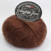 Seam 191241 Angora Fine 191241 шоколадный коричневый
