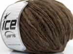 Пряжа для вязания ICE Fiammato (Фиаматто) Цвет fnt2-48482 коричневый