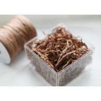 Прочие  Наполнитель бумажный гофрированный кофе с молоком 50г Корея