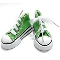 Sovushka  Кеды со шнурком 3,9 для кукол,  цв. зеленый 26983