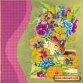 Абрис Арт АС-032 Цветочный аромат. Рисунок на холсте