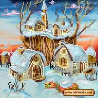 Абрис Арт АС-038 Волшебная зима. Рисунок на холсте