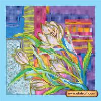 Абрис Арт АС-042 Крокусы. Рисунок на холсте