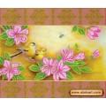 Абрис Арт АС-102 Весеннее цветение. Рисунок на холсте