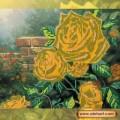 Абрис Арт АС-166 Чайные розы. Рисунок на холсте