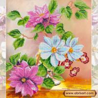 Абрис Арт АС-183 Цветочная симфония. Рисунок на холсте