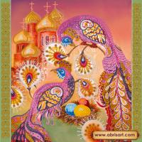 Абрис Арт АС-189 Пасхальный сюжет 3. Рисунок на холсте