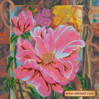 Абрис Арт АС-208 Каменный цветок. Рисунок на холсте