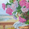 Абрис Арт АС-211 Любимые цветы. Рисунок на холсте