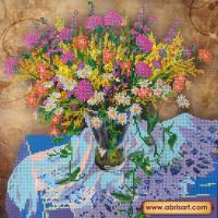Абрис Арт АС-214 Луговые цветы 1. Рисунок на холсте