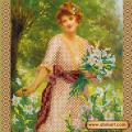 Абрис Арт АС-426 Прекрасная Лилия. Рисунок на холсте