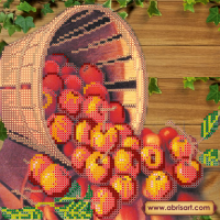 Абрис Арт АС-441 Яблочный Спас. Рисунок на холсте