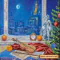 Абрис Арт АС-442 Музыка ночи. Рисунок на холсте