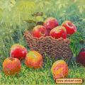 Абрис Арт АС-455 В саду. Рисунок на холсте