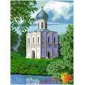 Алмазная живопись АЖ-1010 Храм Покрова