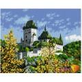 Алмазная живопись АЖ-1044 Древний замок