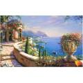 Алмазная живопись АЖ-1156 Итальянская веранда