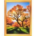 Алмазная живопись АЖ-1166 Осеннее дерево