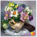 Алмазная живопись АЖ-1198 Букет для бабушки