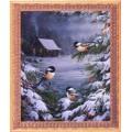 Алмазная живопись АЖ-1282 Вестницы зимы