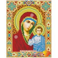 Алмазная живопись АЖ-2002 Икона Казанская Богородица