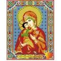 Алмазная живопись АЖ-2007 Икона Владимирская Богородица