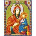 Алмазная живопись АЖ-2010 Икона Иверская Богородица