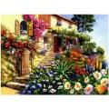 Алмазная живопись АЖ-294 Дом в цветах