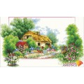 Алмазная живопись АЖ-38 Весенний домик