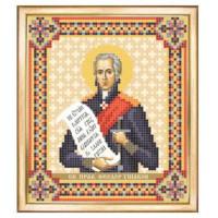 Чаривна Мить СБИ-106 Именная икона Федор Ушаков. Схема для вышивания бисером