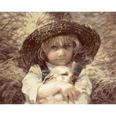 GX7523 Девочка с кроликом