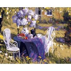 GX7800 Завтрак в саду