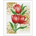Crystal 7713029 Красные тюльпаны