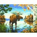 Dimensions 73-91453 Величественный лось