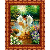 Каролинка КБА 6003 Ангел с утятами