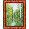 Каролинка КБП 3023 Озеро в лесу