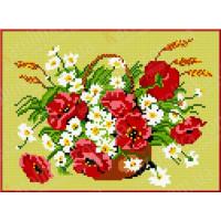 Каролинка КБЦ 4013 (Ж) Маки и ромашки
