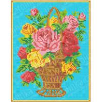 Каролинка КБЦ 4016 Корзина с розами
