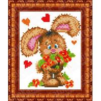 Каролинка КБЖ 5013 Зайчонок с цветами