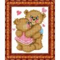 Каролинка КБЖ 5014 Влюбленные медвежата