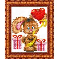 Каролинка КБЖ 5015 Зайчонок с шариком