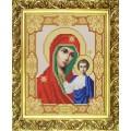 Конёк НИК9111 Богородица Казанская. Схема для вышивания бисером