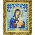 Конёк НИК 9117 Богородица Неувядаемый цвет. Схема для вышивания бисером