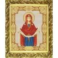 Конёк НИК 9123 Богородица Покрова. Схема для вышивания бисером