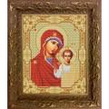 Конёк НИК 9202 Богородица Казанская. Схема для вышивания бисером