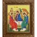 Конёк НИК9206 Св.Троица. Схема для вышивания бисером
