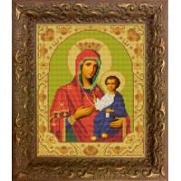 Конёк НИК9207 Богородица Иверская. Схема для вышивания бисером