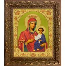 Схема для вышивания НИК9207 Богородица Иверская. Схема для вышивания бисером