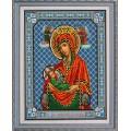 Конёк НИК 9208 Богородица Млекопитательница. Схема для вышивания бисером
