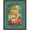 Конёк НИК 9210 Богородица Милующая (Достойно есть). Схема для вышивания бисером